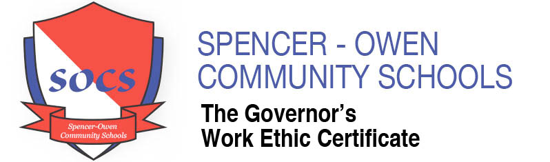 Spencer Owen Work Ethic Certficate